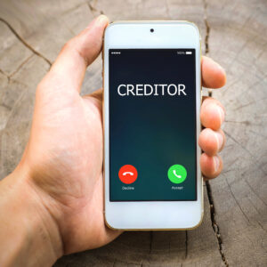 Smartphone Incoming calls on hand - Prudent Financial Solutions