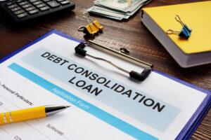 get debt consolidation loan form